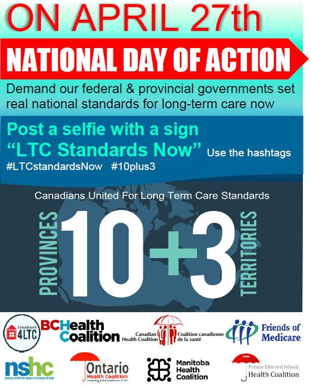 Day of Action for Long-Term Care Standards