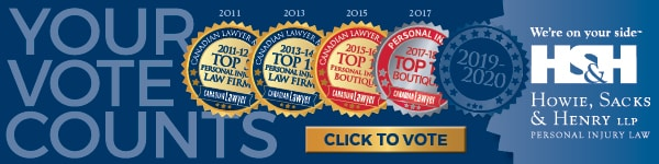 Support HSH in the 2019-2020 Canadian Lawyer Magazine Boutique Survey