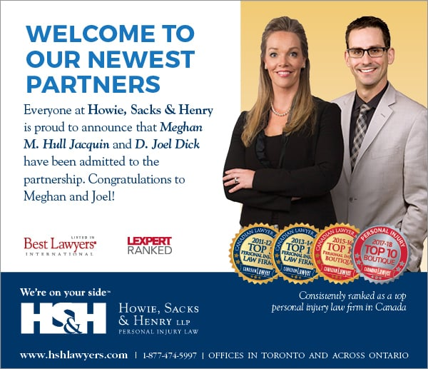 January 1, 2019 – Congratulations New Partners D. Joel Dick & Meghan Hull Jacquin on Joining Partnership