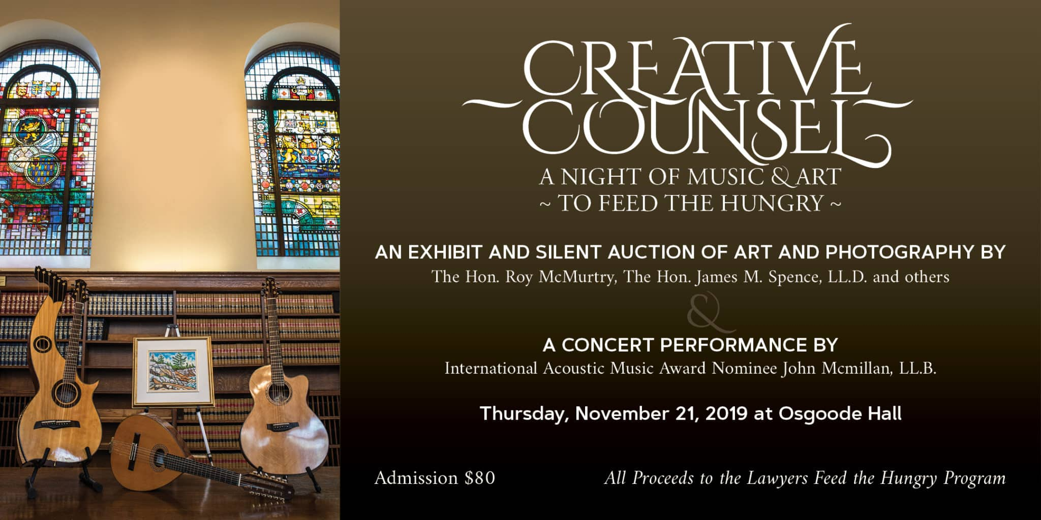 November 21, 2019 – Creative Counsel Art and Music Event
