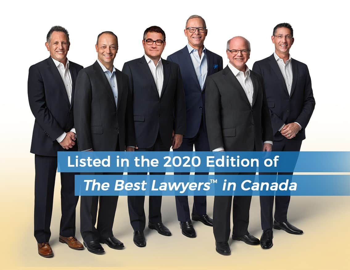 Six HSH Partners Recognized in the 2020 Edition of Best Lawyers in Canada