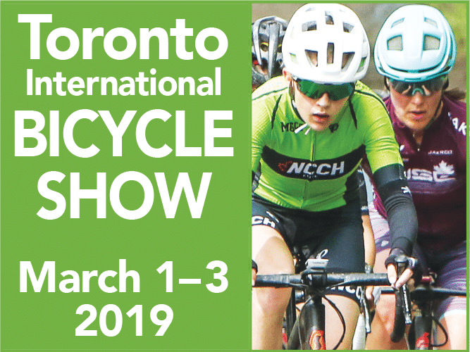 March 1 to 3, 2019 – HSH Talked Safety at the Toronto Int'l Bicycle Show