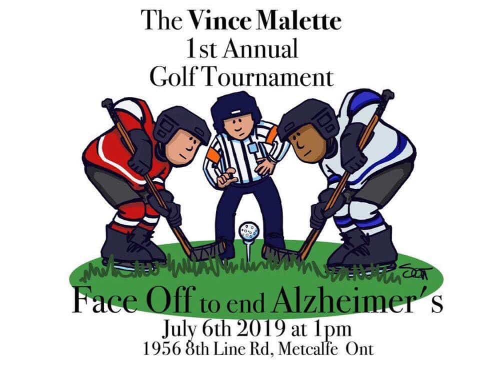 July 6, 2019 — Vince Malette Alzheimer's Golf Tourney