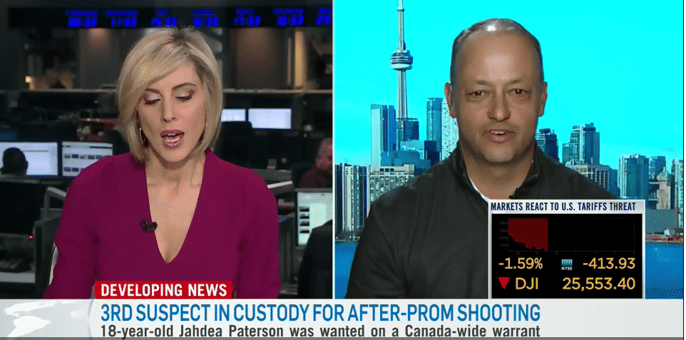 May 9, 2019–David Levy Discusses Airbnb Host Liability on CTV News Channel