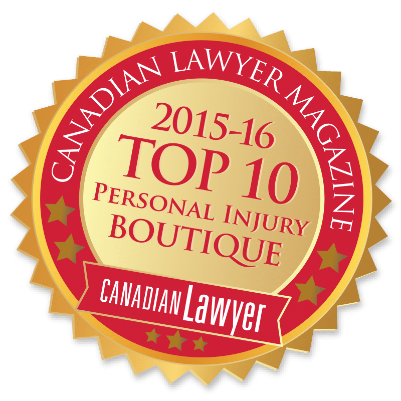 Howie, Sacks & Henry LLP – Personal Injury Law – Top 10 Personal Injury Boutique 2015-16