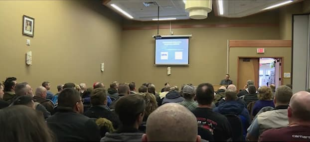 February 23, 2019 — 175 Attended Mefloquine Town Hall Meeting in Edmonton, AB