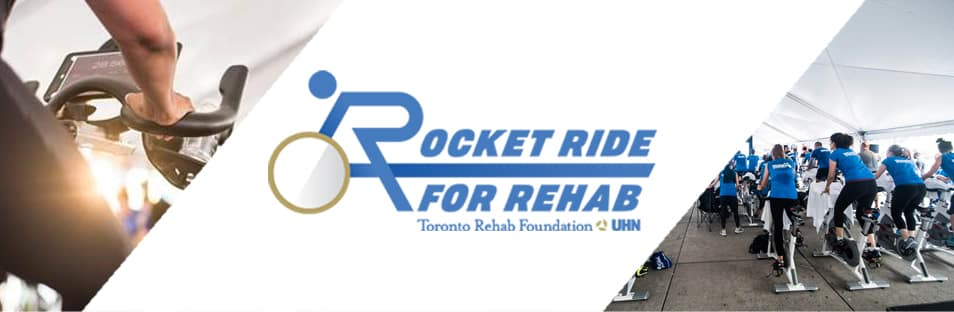 October 13, 2018 – Toronto Rehab Foundation Rocket Ride for Rehab