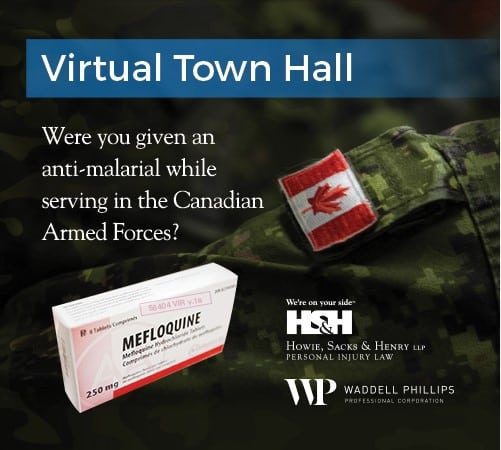March 17, 2019 — Mefloquine Town Hall Meeting: Virtual