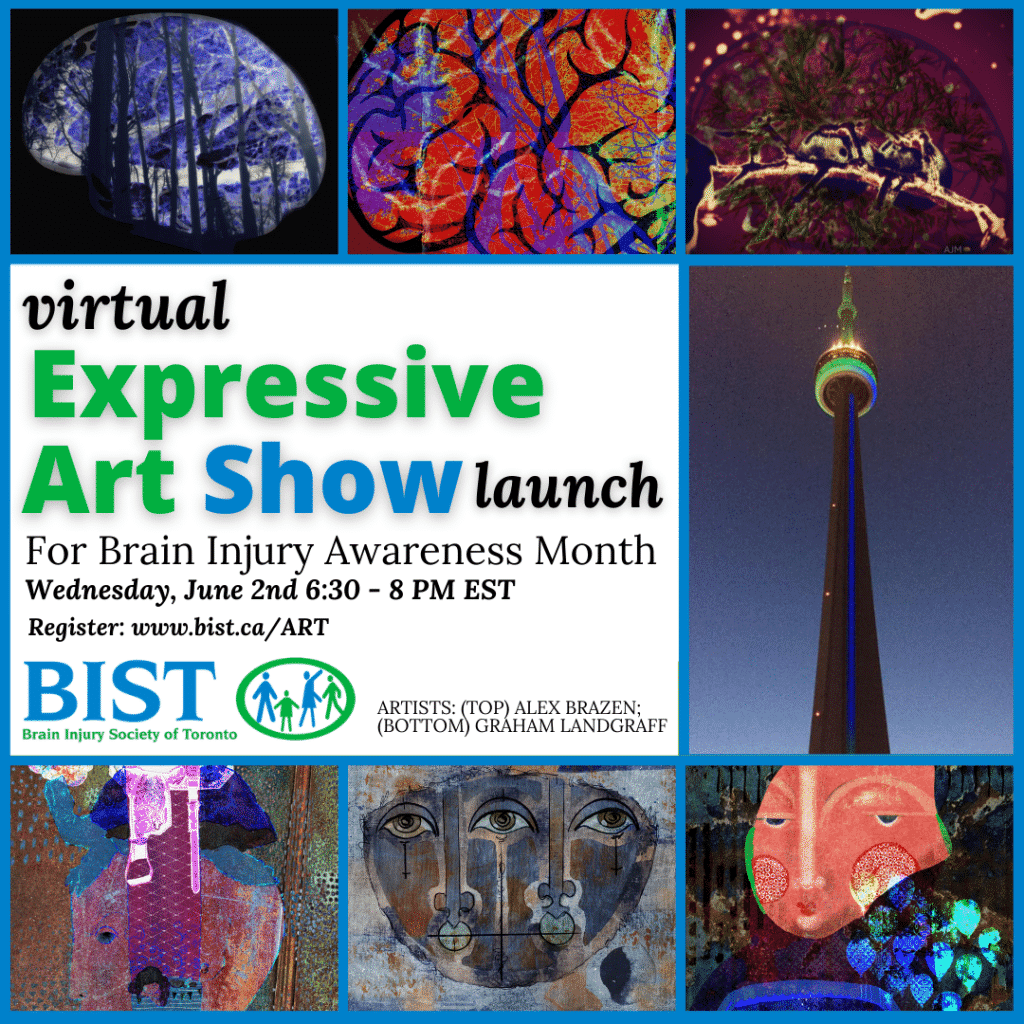 BIST Art Show Showcases Creativity of People Living with Effects of Brain Injury