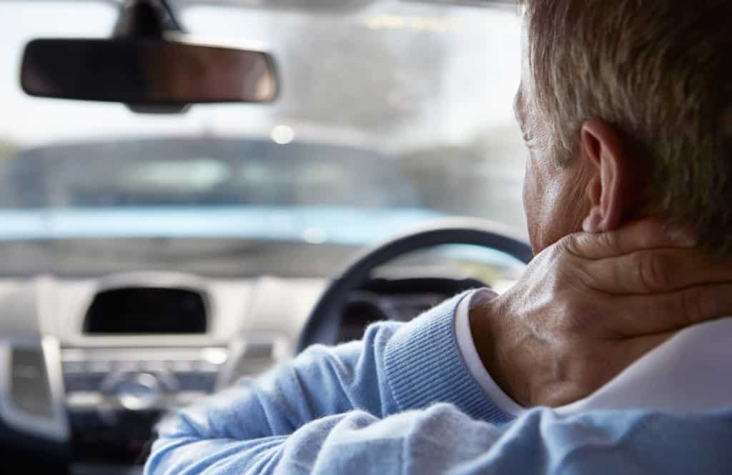 Late onset motor vehicle accident injuries