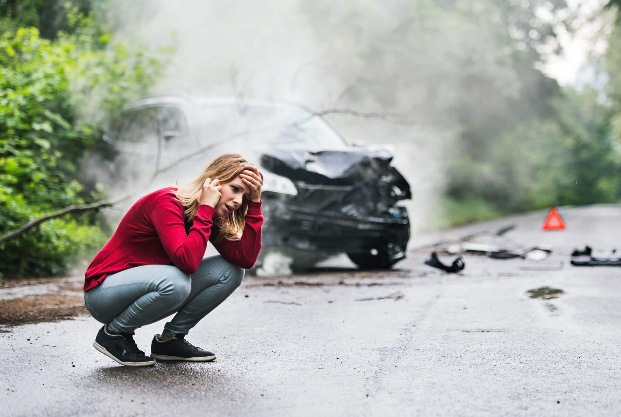 What happens if I get into a car accident and there's cannabis in my system?